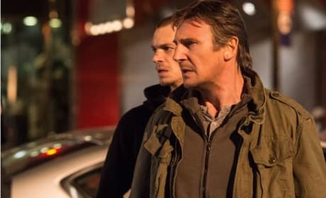 Liam Neeson Joel Kinnaman Run All Night Photo