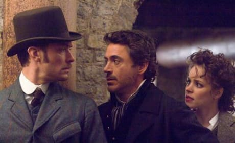 USA Today Features Robert Downey Jr., Sherlock Holmes Photo