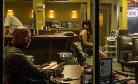 Denzel Washington Chloe Grace Moretz The Equalizer