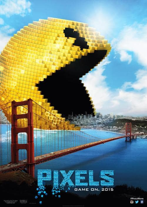 Pixels Pac-Man Poster