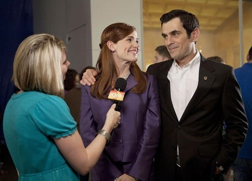 Ty Burrell and Jennifer Garner Butter