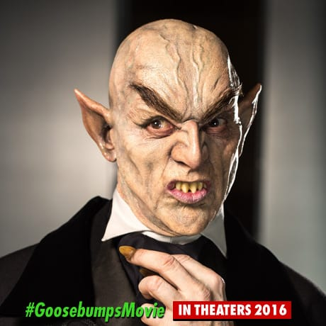 Goosebumps Vampire Photo