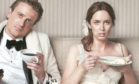 Jason Segel and Emily Blunt in The Five Year Engagement