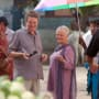 John Madden Directs Judi Dench on The Best Exotic Marigold Hotel Set