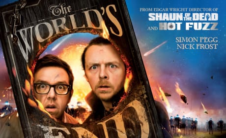 The World's End UK Poster: Prepare to Get Annihilated