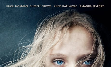 Les Miserables Poster Drops: Cosette and Effect