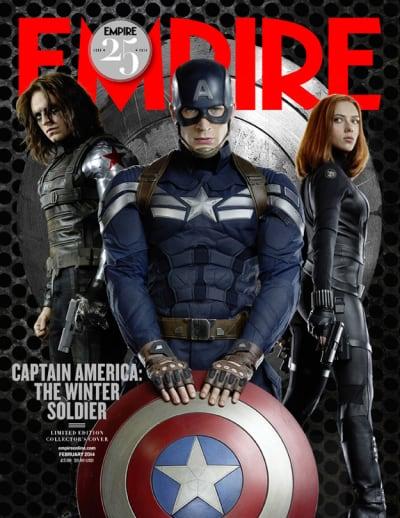 Captain America Black Widow Empire Magazine