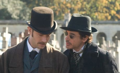 Robert Downey Jr. and Jude Law Talk About Bringing Sherlock Holmes to the Big Screen.