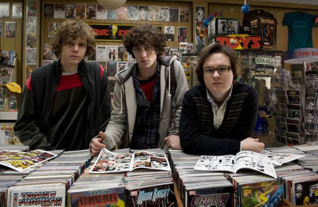 Loitering in the Comic Book Store