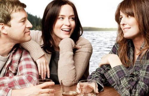 Mark Duplass, Emily Blunt and Rosemarie DeWitt in Your Sister's Sister