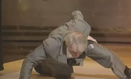Jack Palance Oscar Push Ups