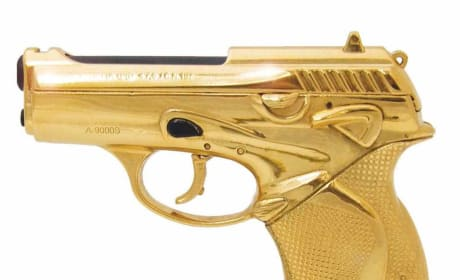 James Bond and the Golden Gun