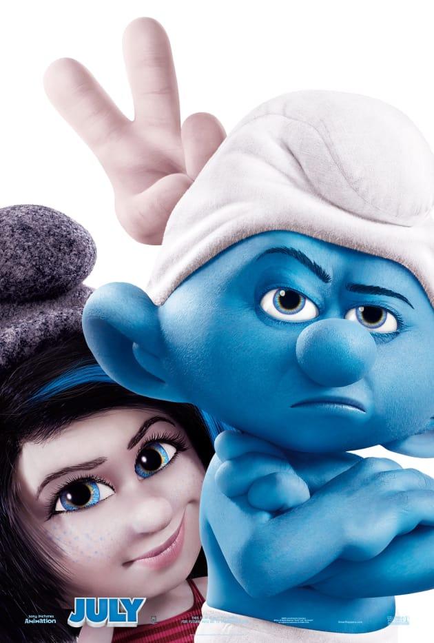 The Smurfs 2 Villain Poster
