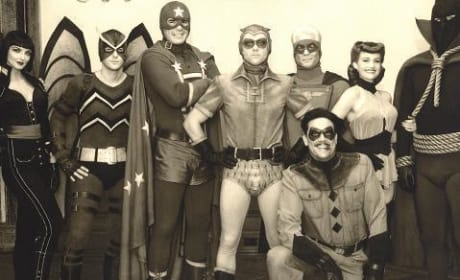 Watchmen: A Classic Cast Photo