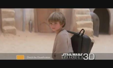 Star Wars: The Phantom Menace 3D TV Spot Released
