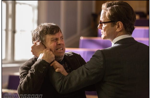 Kingsman: The Secret Service Mark Hamill Colin Firth
