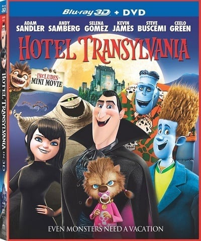 Hotel Transylvnia DVDl