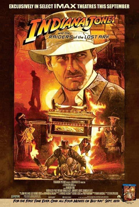 Indiana Jones IMAX Poster