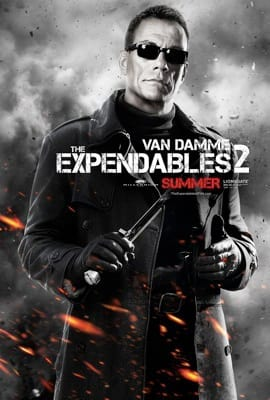 The Expendables 2 Character Poster: Van Damme