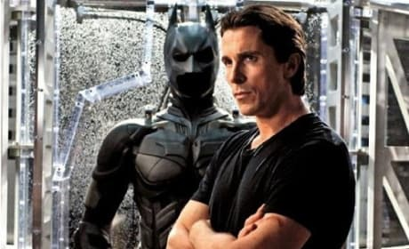 The Dark Knight Rises Stars Christian Bale