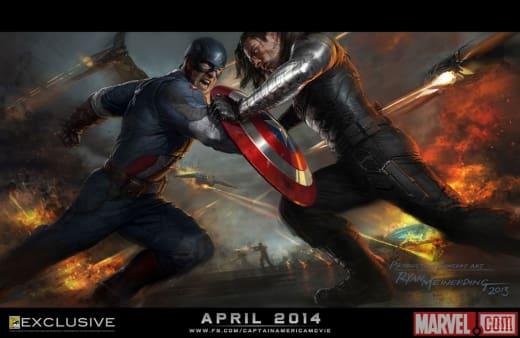Captain America: The Winter Soldier Comic-Con Poster