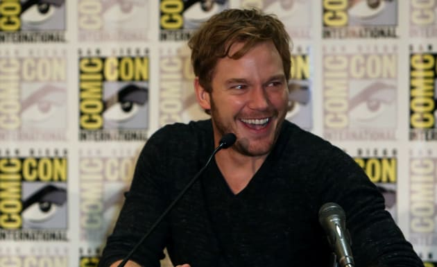 Chris Pratt Guardians of the Galaxy Press Conference