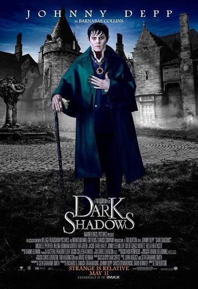 Dark Shadows Johnny Depp Character Poster