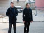 Joseph Gordon-Levitt and Marion Cotillard The Dark Knight Rises