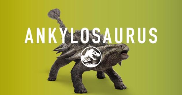 Jurassic World Ankylosaurus
