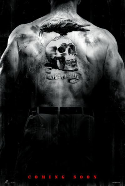 The Expendables teaser poster