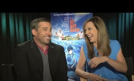 Way Way Back Stars Steve Carell & Allison Janney Exclusive Interview