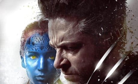 X-Men Days of Future Past Mystique Wolverine