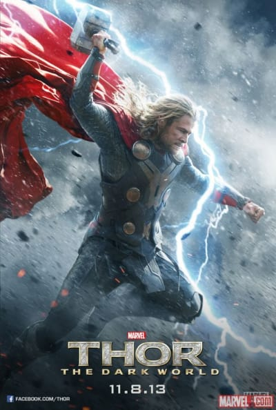 Thor: The Dark World Character Poster Chris Hemsworth