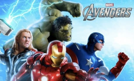 The Avengers Banner: Heroes Drawn