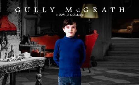 Gully McGrath Dark Shadows Character Poster