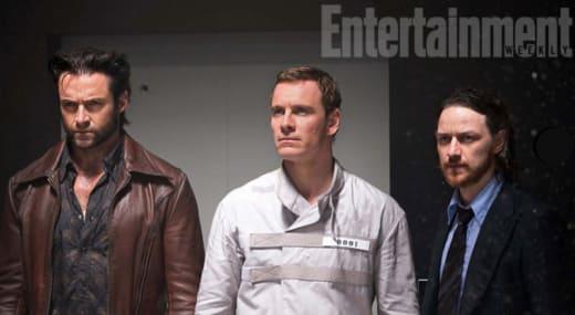 X-Men Days of Future Past Hugh Jackman James McAvoy Michael Fassbender