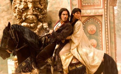 Dastan and Tamina Ride Away