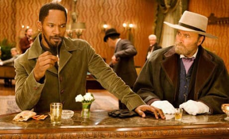 Django Unchained Photo: Jamie Foxx at the Bar