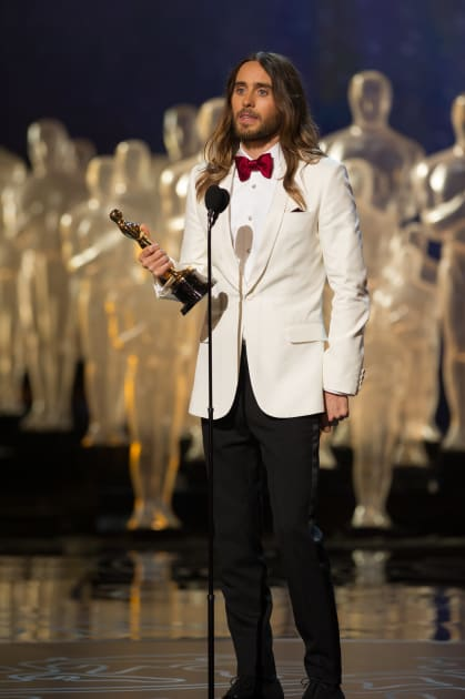 Jared Leto Wins His Oscar!