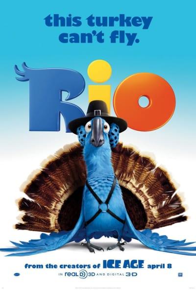 Rio Teaser Poster
