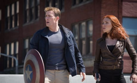 Captain America: The Winter Soldier Chris Evans Scarlett Johansson