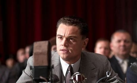 Leonardo DiCaprio is J. Edgar