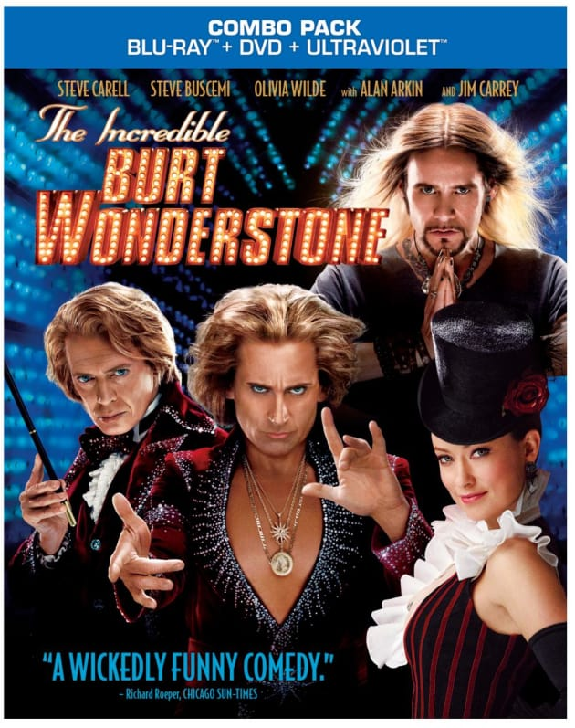 The Incredible Burt Wonderstone DVD-Blu-Ray