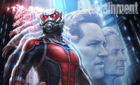 Ant-Man Concept Art Debuts: Michael Douglas & Paul Rudd Revealed!