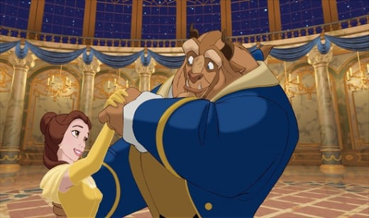 Paige O'Hara and Robby Benson in Beauty and the Beast 3D