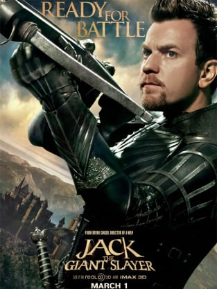 Ewan McGregor Jack the Giant Slayer Character Poster