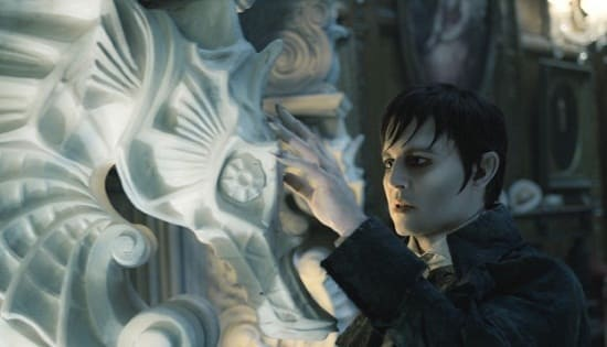 Johnny Depp is Barnabas in Dark Shadows