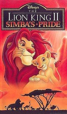 Lion King 2: Simba's Pride Poster