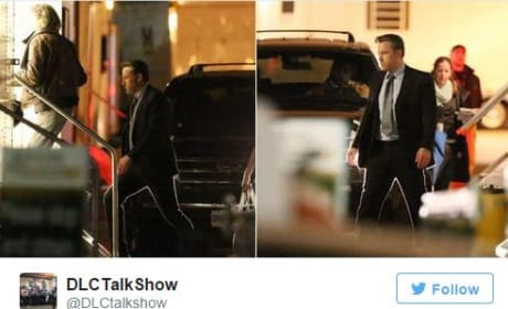 Suicide Squad Set Photo Ben Affleck