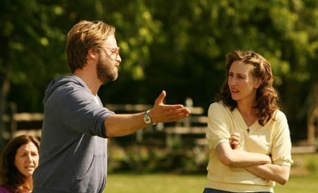 Joshua Leonard and Vera Farmiga in Higher Ground
